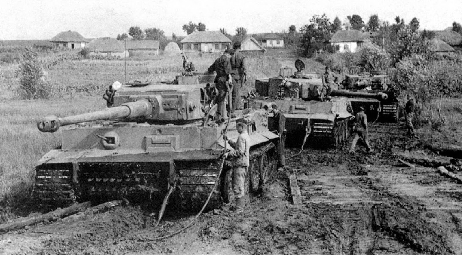 Flooded fields and thick mud was definitely not going to be our friend (Source - historicalsocietyofgermanmilitaryhistory.com)